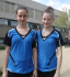 Annabel Seizer und Patricia Diemand (TSV Georgii Allianz)